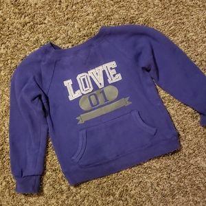 4/$12 Love sweatshirt